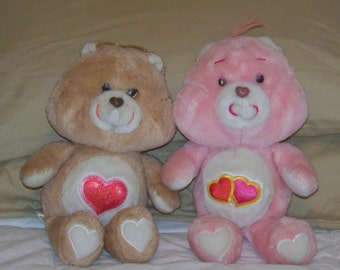 Tender Heart And Love a Lot Care Bears