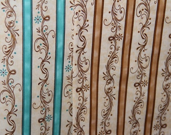 Christian Amazing Grace fabric Scroll cotton fabric by the yard you select color - smoke & pet free - Kensington Fabric Quilting Treasures