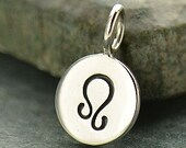 LEO 925 Sterling Silver Zodiac Charm - Add A Chain Option Avaliable - Insurance Included