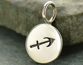 NEW - SAGITTARIUS 925 Sterling Silver Zodiac Charm - Add A Chain Option Avaliable - Insurance Included