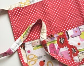 Craft Apron - Sew Now Polka Dot in Red