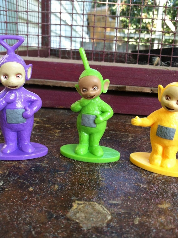 Teletubbies Cake Toppers Laa Laa Po Dipsy And Tinky Winky