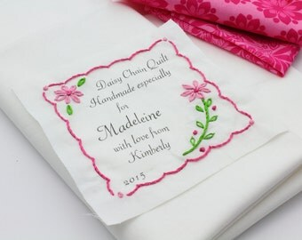 Fold-over Custom Fabric Labels or Tags — Custom Sizes — Your Logo ... : personalized quilting tags - Adamdwight.com