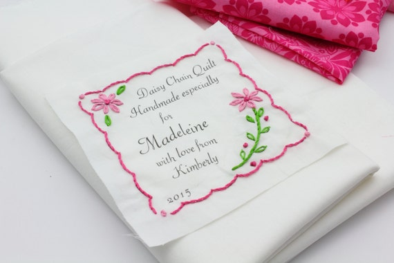 Fabulous image throughout free printable quilt labels