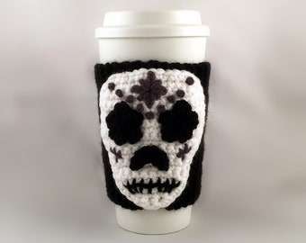 Day Of The Dead Starbucks Sleeve To-Go-Cup Cozy Halloween