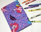 Crayon Wallet - READY TO SHIP Hip Trendy Travel -  My little pony