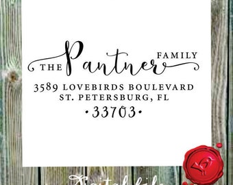Return address   DIGITAL DOWNLOAD  modern design with heart  - style 1162E -  Digital File, Print Anywhere