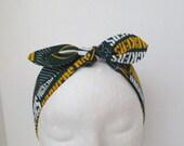 Greenbay Headbands - Packers headbands - Adult NFL headbands