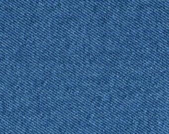 CLEARANCE SALE 5 Yards Stonewash Light Blue Denim Fabric Slipcovers Apparel Upholstery