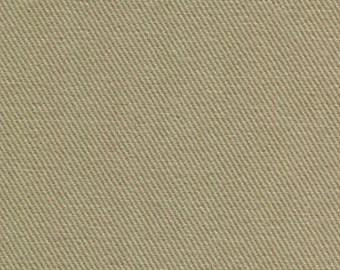 10 oz Brushed COTTON Twill Upholstery Slipcover Fabric KHAKI Home Decor Slipcovers Clothing