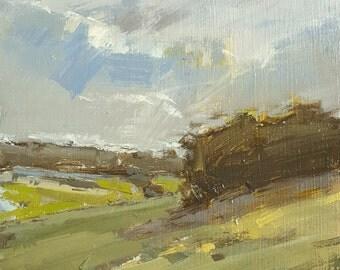 Portrait of a Storm   Oil Painting   4.75 x 6.75