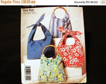 on SALE Slouch Bag Pattern Handbag Sewing Purse Pattern Easy to Sew Pattern