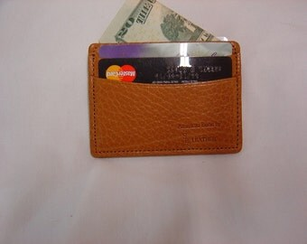 Credit  card case made of American bison