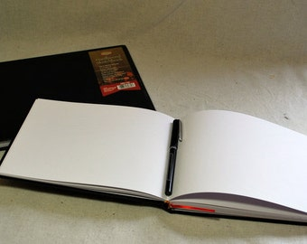 Medium Horizontal Hardback Sketchbook Refills for Refillable Sketchbook Covers