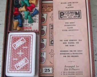 PlayThrough The Night - 1930's Plus & Minus - PM Until AM Board Game