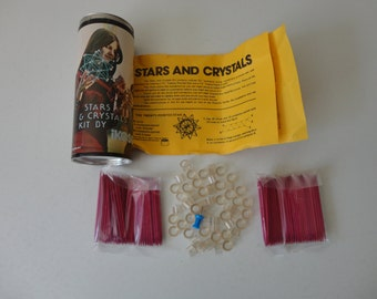 VINTAGE stars and crystals KIT no. 2 by IKOSO - 2 kits available - sold separately