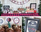 Lumberjack Birthday Party Collection - DIY