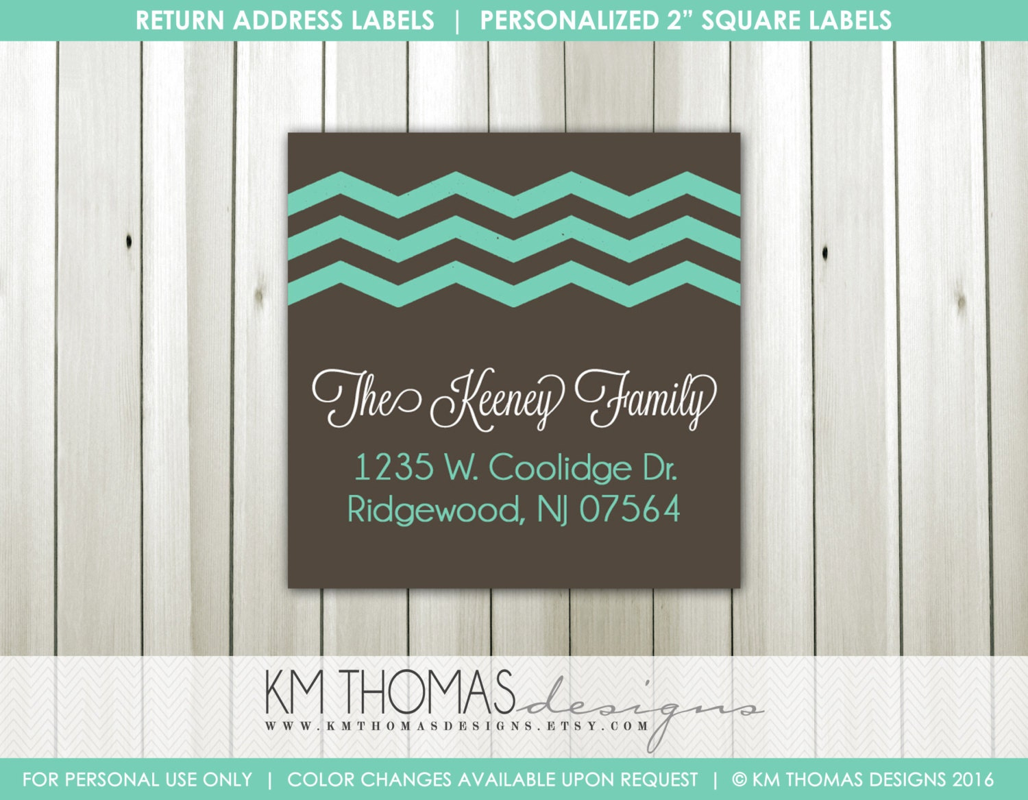 It's just a graphic of Nifty Printable Return Address Labels