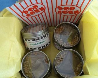 Popcorn Seasoning Mix, Popcorn Gift Set, Popcorn Flavor, Gourmet Popcorn Mix, Popcorn Mix, Popcorn, Birthday Gift, Gifts for Him, Salt Free