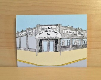 The Stone Pony Birthday Card