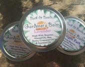 Gardener's Balm-Mix and Match Any 3 Tins Ginger Peach, Lavender, or Moonlight Path