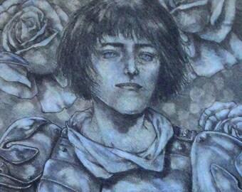 Michael Zulli // Maid of Orleans // Joan of Arc // Original // OOAK