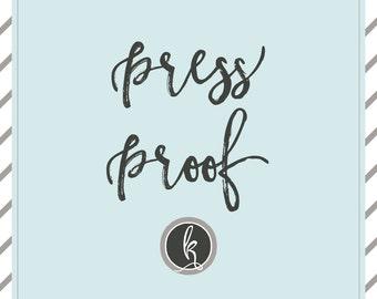 PRESS PROOF
