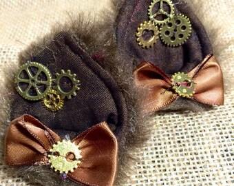 Clockwork Kitty Ears - Brown