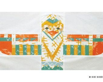 Totem Eagle #6 PDF Paper Piecing Pattern