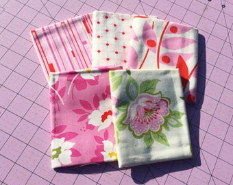 5 Pink Fat Quarter of Nicey Jane by Heather Bailey for Free Spirit