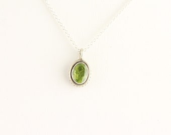 Peridot Necklace. Listing 248700484