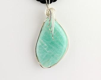 Amazonite Pendant. Listing 248839274