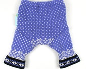 "WOOL SHORTIES - Wool Diaper Cover - ""Fair Isle Fanny"" -  Small 0-9m"