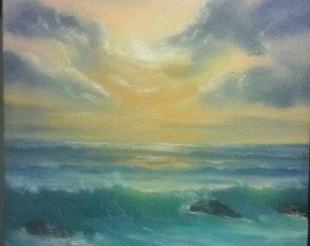Narragansett Sunlit Waves