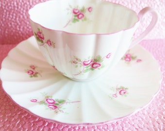 Shelley Bridal RoseTeacup, Pink Bridal Rose Teacup, Shelley Pink RoseTeacup, Shelley Ludlow Bridal Rose, No  28