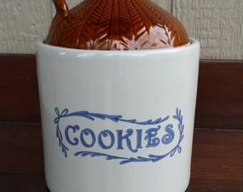 Brown Jug Cookie Jar