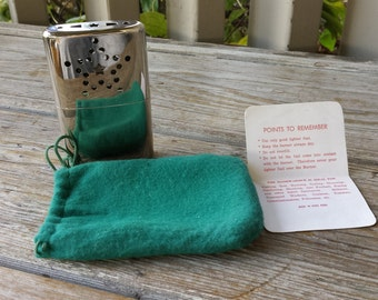Jimmy Pocket Hand Warmer/cigarette Lighter with Star Design, Felt Bag and Directions