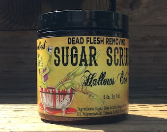 Hallows Eve organic vegan Sugar Scrub