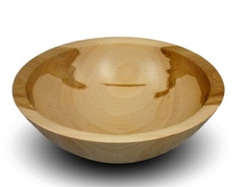 Handmade Apple Wood Bowl - Food Safe