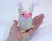 Owl Plush - Young adult owl (No. 83)