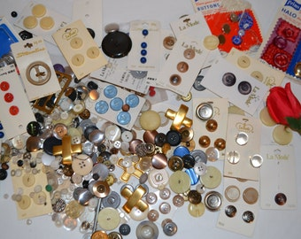 Vintage Button Collection......1# 3oz.