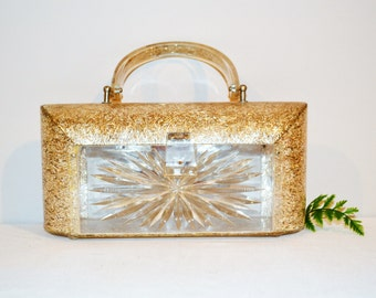 Vintage Purse Gilli Confetti Starburst  New York