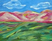 Matted print, Landscape SALE!