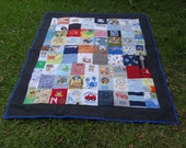 Create a Quilt with your baby and toddler clothing