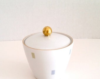 Adorable Mod Stash Container Porcelain Seltmann Weiden K