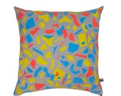 Radium Pop Screen-Printed cushion