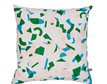 Radium Random Forest Screen-Printed cushion