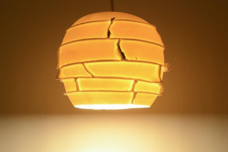 Ceiling Light: Spikes Pendant Translucent By Lightexture