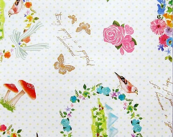 50 Paper Gift Bags / Paper Pockets / Paper Envelopes - Sweet Things
