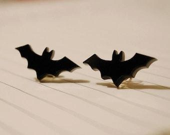 Teeny Tiny Bat Earrings